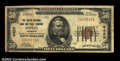 National Bank Notes:Missouri, Joplin, MO - $50 1929 Ty. 1 The Joplin NB & TC Ch. # ...