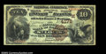 National Bank Notes:Missouri, St. Louis, MO - $10 1882 Brown Back Fr. 484 The NB of ...