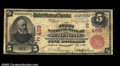 National Bank Notes:Pennsylvania, Bellefonte, PA - $5 1902 Red Seal Fr. 587 The First NB ...
