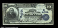 National Bank Notes:Pennsylvania, Charleroi, PA - $10 1902 Plain Back Fr. 627 The First NB...