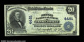 National Bank Notes:Pennsylvania, Connellsville, PA - $20 1902 Plain Back Fr. 653 Second ...