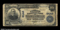 National Bank Notes:Pennsylvania, East Mauch Chunk, PA - $10 1902 Plain Back Fr. 626 The ...