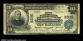 National Bank Notes:Pennsylvania, Elizabethtown, PA - $10 1902 Plain Back Fr. 624 First NB ...