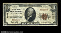 National Bank Notes:Pennsylvania, Fleetwood, PA - $10 1929 Ty. 1 The First NB & TC Ch. # ...