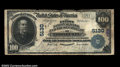 National Bank Notes:Pennsylvania, Ford City, PA - $100 1902 Plain Back Fr. 704 The First ...