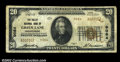 National Bank Notes:Pennsylvania, Green Lane, PA - $20 1929 Ty. 2 The Valley NB Ch. # ...