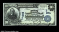 National Bank Notes:Pennsylvania, Harrisburg, PA - $10 1902 Plain Back Fr. 624 The First ...