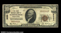 National Bank Notes:Pennsylvania, McConnellsburg, PA - $10 1929 Ty. 1 The First NB Ch. # ...