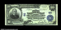 National Bank Notes:Pennsylvania, Newville, PA - $10 1902 Plain Back Fr. 624 The First NB...