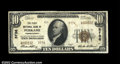 National Bank Notes:Pennsylvania, Perkasie, PA - $10 1929 Ty. 2 The First NB Ch. # 5736...