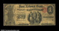 National Bank Notes:Pennsylvania, Pittston, PA - $1 Original Fr. 380 The First NB Ch. # ...