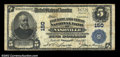 National Bank Notes:Tennessee, Nashville, TN - $5 1902 Plain Back Fr. 602 Fourth & FNB ...