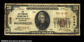 National Bank Notes:Tennessee, Small Size Tennessee Pair.Knoxville, TN - $20 1929 ...