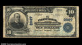 National Bank Notes:Virginia, Front Royal, VA - $10 1902 Plain Back Fr. 624 The Front ...