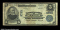 National Bank Notes:Virginia, Suffolk, VA - $5 1902 Plain Back Fr. 601 NB of Suffolk ...