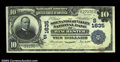 National Bank Notes:Virginia, Winchester, VA - $10 1902 Plain Back Fr. 625 The ...