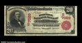 National Bank Notes:West Virginia, Clarksburg, WV - $20 1902 Red Seal Fr. 639 The Empire NB...