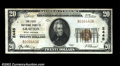 National Bank Notes:West Virginia, Grafton, WV - $20 1929 Ty. 1 The First NB Ch. # 2445...