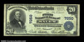 National Bank Notes:West Virginia, Salem, WV - $20 1902 Plain Back Fr. 650 The First NB ...