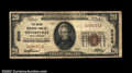 National Bank Notes:West Virginia, Sistersville, WV - $20 1929 Ty. 1 The Union NB Ch. # ...