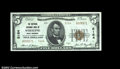 National Bank Notes:West Virginia, Wheeling, WV - $5 1929 Ty. 2 The National Exchange Bank...