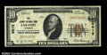 National Bank Notes:Wyoming, Laramie, WY - $10 1929 Ty. 1 The Albany NB Ch. # 3615...