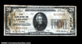National Bank Notes:Wyoming, Laramie, WY- $20 1929 Ty. 1 The Albany NB Ch. # 3615...