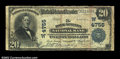 National Bank Notes:Wyoming, Rock Springs, WY - $20 1902 Plain Back Fr. 654 The Rock ...