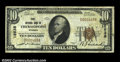 National Bank Notes:Wyoming, Thermopolis, WY - $10 1929 Ty. 1 First NB Ch. # 12638...