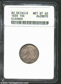 Bust Dimes: , 1830 10C Medium 10C XF40 ANACS. The current Coin Dealer ...