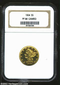 Proof Liberty Half Eagles: , 1904 $5 PR 64 Cameo NGC. The current Coin Dealer Newsletter ...