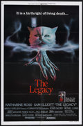 """Movie Posters:Horror, The Legacy (Universal, 1978). One Sheet (27"""" X 41"""") Style B. Science Fiction. Starring Katharine Ross, Sam Elliott and Roger..."""