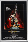 "Movie Posters:Action, Conan the Barbarian (Universal, 1982). One Sheet (27"" X 41"").Fantasy Action. Starring Arnold Schwarzenegger, James Earl Jon..."