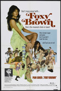 "Movie Posters:Blaxploitation, Foxy Brown (American International, 1974). One Sheet (27"" X 41"").Blaxploitation. Starring Pam Grier, Peter Brown, Terry Car..."