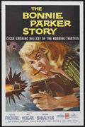 "Movie Posters:Crime, The Bonnie Parker Story (American International, 1958). One Sheet(27"" X 41""). One Sheet (27"" X 41""). Crime. Starring Doroth..."