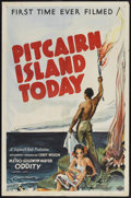 "Movie Posters:Short Subject, Pitcairn Island Today (MGM, 1935). One Sheet (27"" X 41""). ShortSubject. Narrated by Carey Wilson. Released the same year as..."