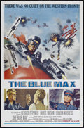 "Movie Posters:War, The Blue Max (20th Century Fox, 1966). One Sheet (27"" X 41""). War.Starring George Peppard, James Mason, Ursula Andress, Jer..."