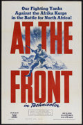 """Movie Posters:War, At the Front (War Activities Committee, 1943). One Sheet (27"""" X41""""). War Documentary. Starring John Ford and Darryl F. Zanu..."""