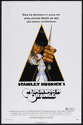 "Movie Posters:Science Fiction, A Clockwork Orange (Warner Brothers, 1971). One Sheet (27"" X 41""). Science Fiction. Starring Malcolm McDowell, Patrick Magee..."