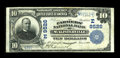 National Bank Notes:Pennsylvania, McAlisterville, PA - $10 1902 Plain Back Fr. 626 The Farmers NB Ch. # (E)9526. A scarcer Juniata County note from a bank...