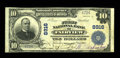 National Bank Notes:Missouri, Fairview, MO - $10 1902 Plain Back Fr. 626 The First NB Ch. # 8916.A truly rare note from the only bank to issue in thi...