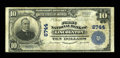 National Bank Notes:North Carolina, Lincolnton, NC - $10 1902 Plain Back Fr. 624 The First NB Ch. # 6744. While small notes from this bank are relatively co...