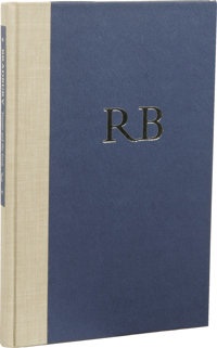 Ray Bradbury: Signed Limited First Edition of Forever and the Earth. (Athens, Ohio: Croissant & Company, 1984), firs...
