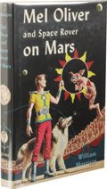 Books:First Editions, William Morrison: Mel Oliver and Space Rover on Mars. (NewYork: Gnome Press, 1954), first edition, 191 pages, yellow cl...