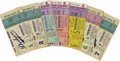 Baseball Collectibles:Others, 1956 World Series Ticket Stubs Complete Run of 7. For the secondtime in as many years, the Bums and the Bombers took the F...