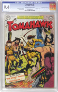"Golden Age (1938-1955):Western, Tomahawk #8 Davis Crippen (""D"" Copy) pedigree (DC, 1951) CGC NM 9.4Off-white to white pages...."