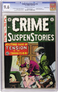 Golden Age (1938-1955):Crime, Crime SuspenStories #14 Gaines File pedigree (EC, 1952) CGC NM+ 9.6 Off-white to white pages....