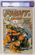 Golden Age (1938-1955):War, Fight Comics #44 (Fiction House, 1946) CGC NM 9.4 Off-whitepages....