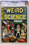 Golden Age (1938-1955):Science Fiction, Weird Science #15 (#4) River City pedigree (EC, 1950) CGC VF/NM 9.0Cream to off-white pages....