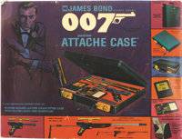 James Bond Secret Agent 007 Attache Case (Multiple Toymakers, 1964). Spend the day playing with spyware, chasing imagina...